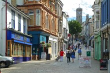 Redruth, Fore Street, Cornwall © Mike Smith